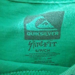 Quiksilver Tops - {Quiksilver} Green Tee